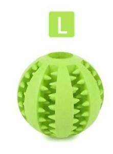 Dog Toy Balls Bite Resistant Rubber Playing Training Tooth Cleaning Pet Toy