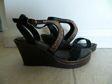 "Grendha ""Allure"" Wedge Sandals Size 7"