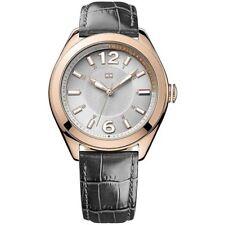 Tommy Hilfiger Uhr 1781365 Damenuhr Grau Roségold Leder Lady Watch NEU & OVP