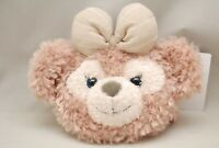 Tokyo Disney Shellie May Face Pass Case Duffy Friend ShellieMay Plush Coin Bag