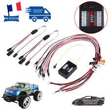 1/10 RC modèle de voiture camion LED lumière système lampe frontale clignotante