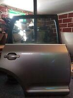 03-06 Complete Porsche Cayenne Right Passenger Rear Door Jarama Beige Metallic