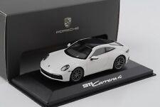 Porsche 911 992 Carrera 2019 weiss 1:43 Minichamps WAP Dealer