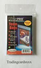 ♦Pokémon/Yu-Gi-Oh!♦ 100 Protèges Cartes/Pochettes Toploader Ultra PRO Team Bags