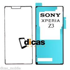 Juego de Adhesivos Para Sony Xperia Z3 Pegatina Tapa Bateria Trasero Delantero