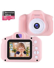 Kids Mini Digital Video Camera with 32gb SD Card - Pink
