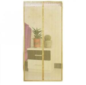 Anti-Mosquito Door Breathable Magnetic Fine Net Gauze Summer Door Curtain Net