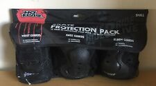 No Fear Skate Protection Pack: Guards, Wrist, Knee, Elbow. (SIZE SMALL)