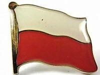 Polen Flaggen Pin Anstecker,1,5 cm,Neu mit Druckverschluss