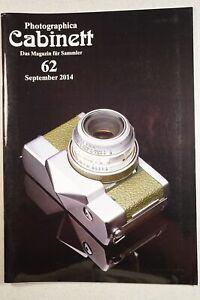 Photographica Cabinett 62 Kamerawerkstätten Barnack Contessa Kodak Werraflex