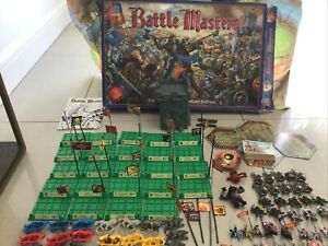 Battle Masters MB Board Game [ENG, 1992] Warhammer Used