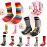 Infant Baby Toddler Girl Boy Slipper Socks Shoes Cartoon Animals Anti-slip Boots