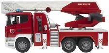 Bruder SCANIA R-Serie Feuerwehrleiterwagen mit Wasserpumpe und Light Spielzeug