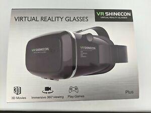VR Shinecon Virtual Reality Glasses with Original Box (Untested) #SH