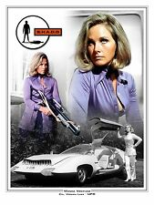 "Wanda Ventham UFO 16"" x 12"" Montage Artwork Photo Poster"