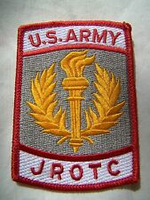U. S. Army JROTC Class A Embroidered Patch NEW Sew or Iron On