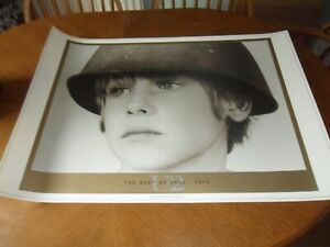 U2 THE BEST OF 1980-1990 LITHOGRAPH POSTER MINT