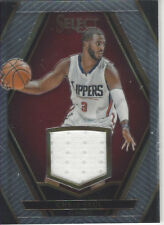 CHRIS PAUL 2015-16 SELECT BASKETBALL SWATCHES 1/99 #55 NEAR MINT