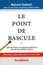 LE POINT DE BASCULE - MALCOLM GLADWELL - FORMAT POCHE