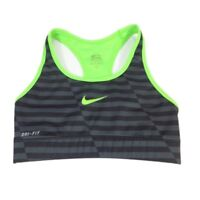 Nike pro combat women's sports bra 534542 Black/neon green XS