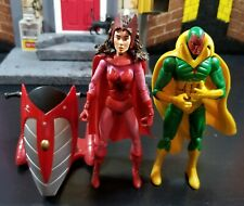 Marvel legends scarlet witch vision lot Avengers captain America Hawkeye hulk
