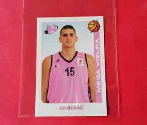 Nikola Jokic  #129 ROOKIE sticker Mega Vizura Denver Nuggets ABA LEAGUE 2014-15
