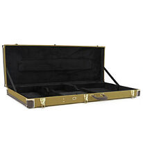 Electric Bass Guitar Case by Gear4music Tweed