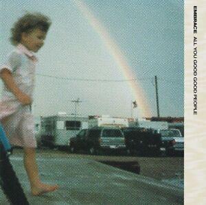 EMBRACE All You Good Good People Vinyl Record Single 7 Inch Fierce Panda & 1997