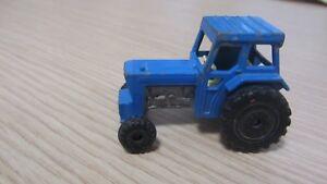 Matchbox #46 Ford Tractor, #48 Sambron Jacklift (No Forks), #50 Truck Trailer