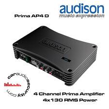 AUDISON ap4 D-prima 4 Canali amplificatore sistema 520w Altoparlante BRIDGE AMP