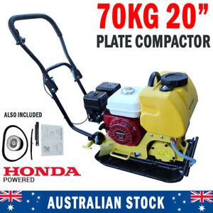 Genuine Honda Powered 70 KG Plate Compactor Wacker Packer Industrial