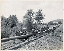 ALABAMA c. 1940 - Pipeline Construction USA - GF 303
