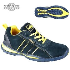 Mens NORTHWEST Lightweigth Work Safety Boots Steel Toe Cap Trainers PPE Shoes Sz