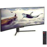 "43"" Curved Ultrawide E-LED Gaming Monitor 3840x1200 120Hz 32:10 3000:1"