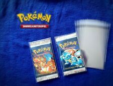 "40x Pokemon Booster ""holder Case"" Hüllen - protective covers -sleeve Yugioh WOW"