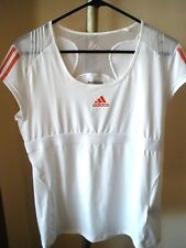WOMEN'S  ADIDAS FORMOTION CLIMACOOL LAWN ADIPOWER BARRICADE TENNIS TOP SZ MEDIUM
