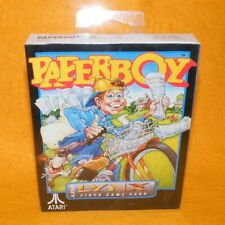 Vintage 1990 Atari Lynx Handheld Paperboy Paper Boy Video Game Card Boxed