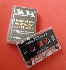 MUSICASSETTA SOUL MUSIC LA REPUBBLICA