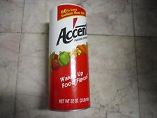 New !  32 oz Accent Ac'cent Canister Can Food Flavor Enhancer Kosher 2 lb  51231