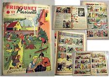 Fripounet et Marisette - N°15 - 18° Année - 13/04/1958.
