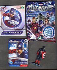 "PREZIOSI COLLECTION: ""Marvel AVENGERS"" (3D + Fanbuk + Card) ""CAPITAN AMERICA"""