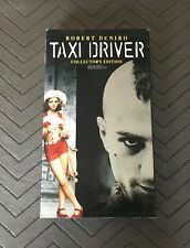 Taxi Driver Collector's Edition Vhs Rare