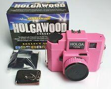 HOLGA 120 N Holgawood Collection Pink
