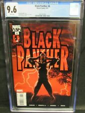 Black Panther #6 (2005) Kaare Andrews Beautiful Cover CGC 9.6 White Pages S594