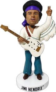 """Kollectico Jimi Hendrix Classique Rock Musicien 8 """" Bobblehead Figurine"""