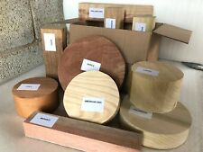Woodturning Bowl & Spindle Blanks Gift Selection Box Mixed Sizes & Species