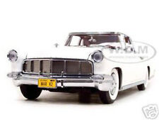 1956 LINCOLN CONTINENTAL MARK 2 WHITE 1:18 DIECAST BY ROAD SIGNATURE 20078