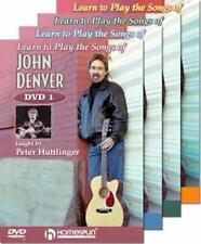 LEARN TO PLAY JOHN DENVER SONGS-GUITAR LESSON 4 DVD SET