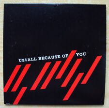 U2 All Because Of You Cd-Single Mexico Promo U2PRO 4