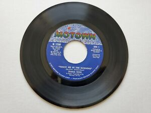 DIANA ROSS - Touch Me In The Morning / I Won't Last A Day Without You MOTOWN EX